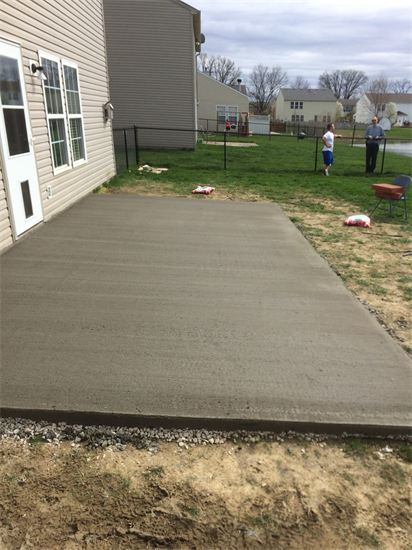 new patio being laid by Sturgeon Stone & Landscape
