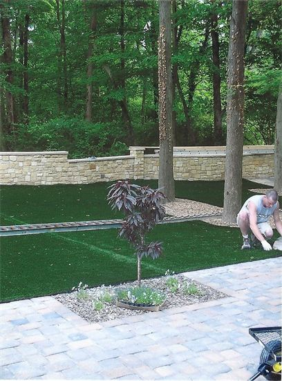 patio by sturgeon stone and landscaping